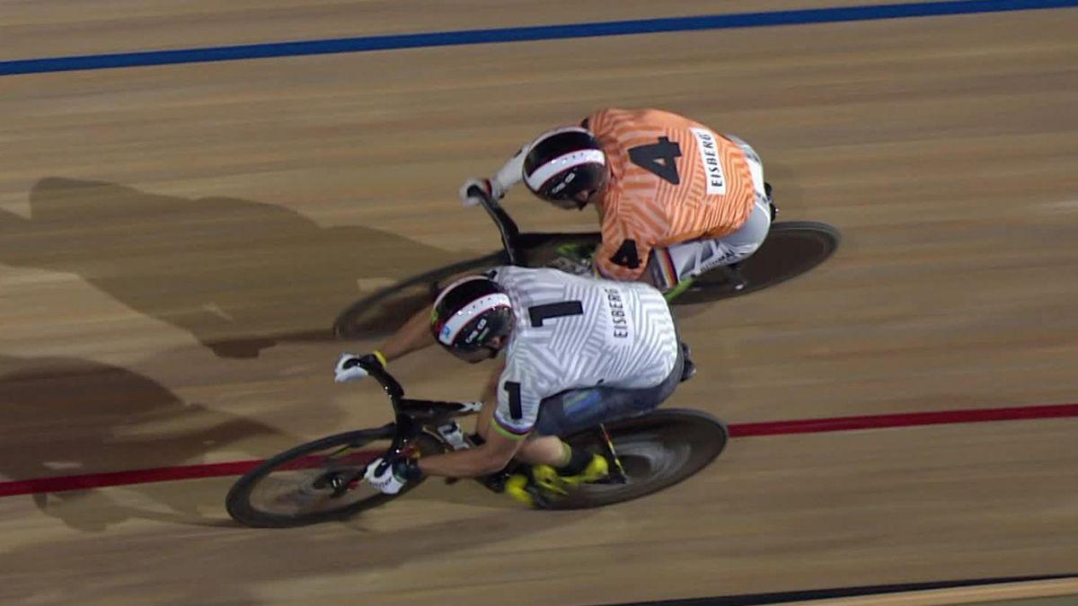 Six Day London - Day 1 - Sprint Final 1