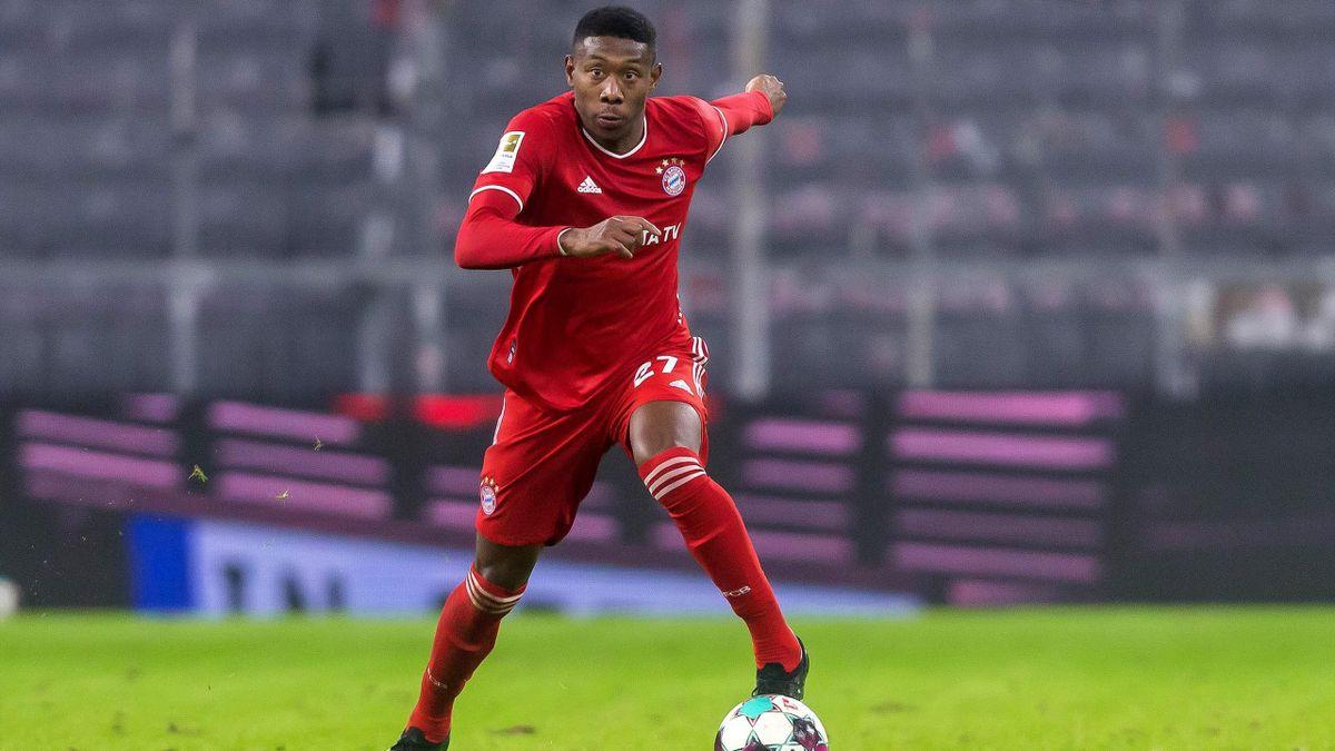 David Alaba (FC Bayern) steht vor einem Abschied aus München