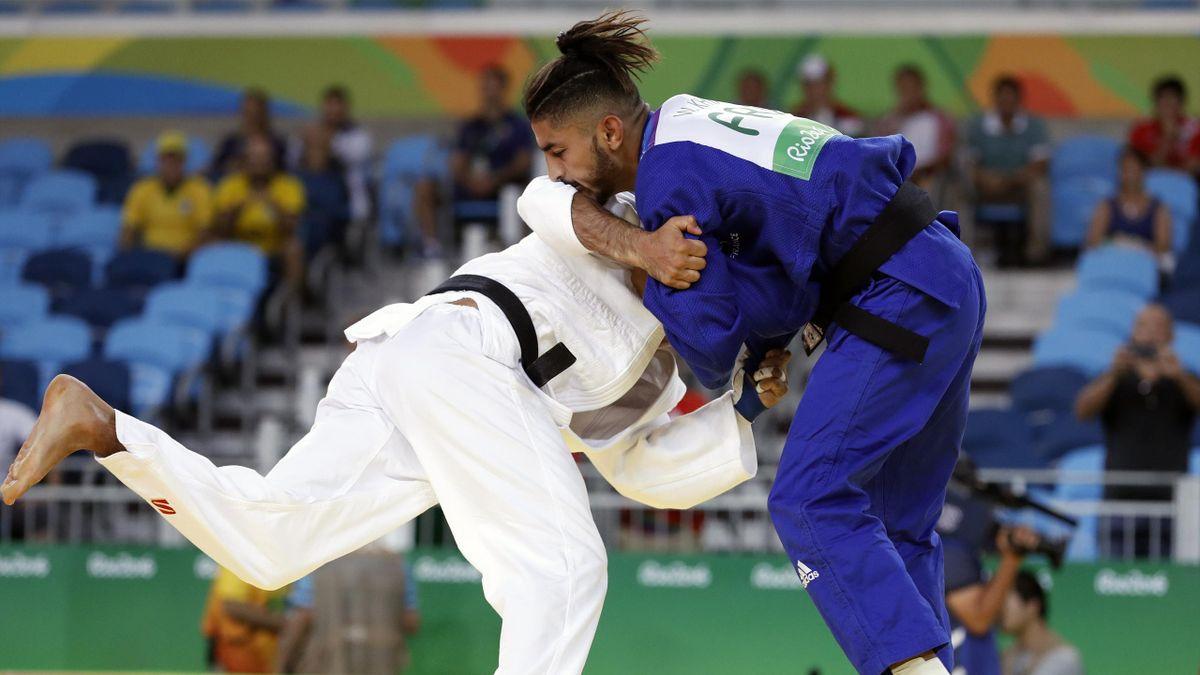 Walide Khyar contre Simon Yacoub aux Jeux Olympiques de Rio 2016