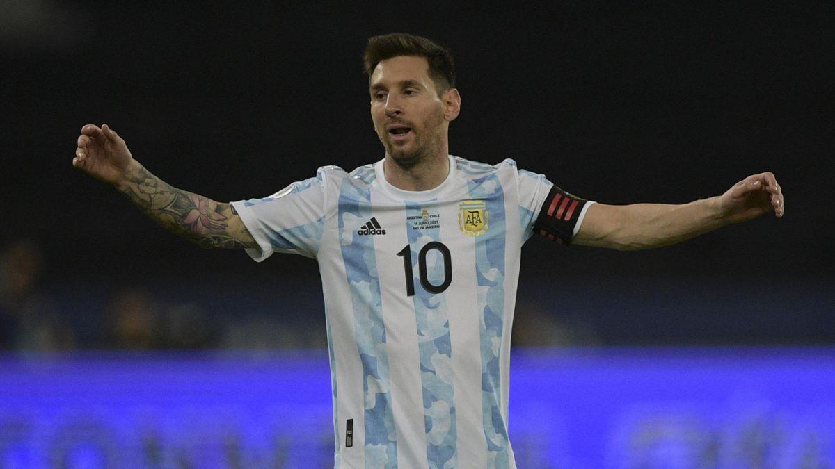 Argentiniens Kapitän Lionel Messi