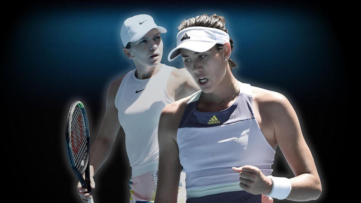 Simona Halep Garbine Muguruza   Tennis   ESP Player Feature