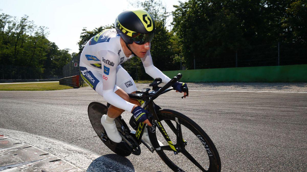 Great Britain's Adam Yates of team Orica competes