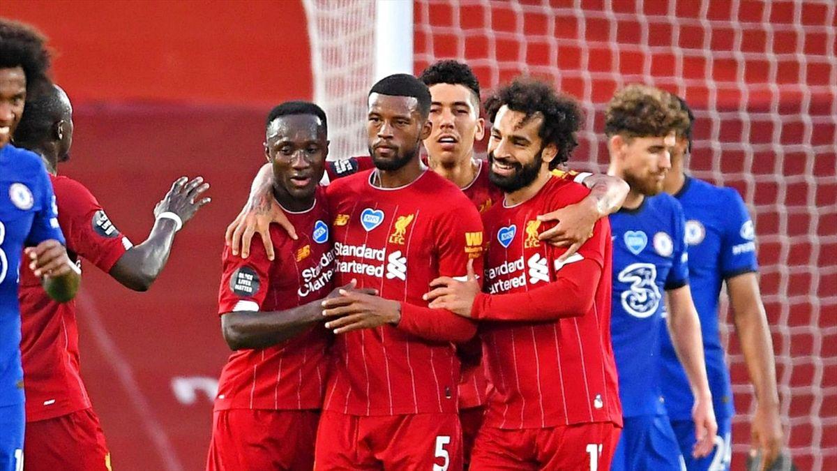 Liverpool, victorie cu Chelsea pe Anfield