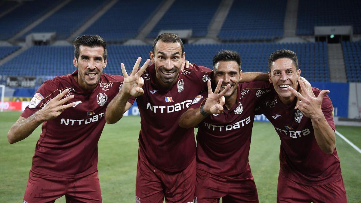 CFR Cluj are 7 meciuri consecutive fără înfrângere în Europa League
