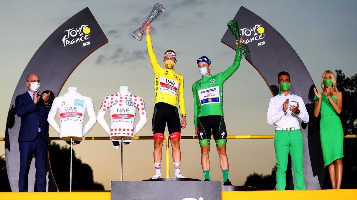 Tadej Pogacar, al doilea cel mai tânăr ciclist care câștigă Turul Franței
