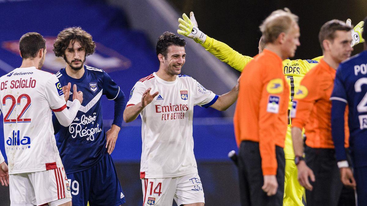 Léo Dubois a donné la victoire à l'OL face à Bordeaux (2-1)