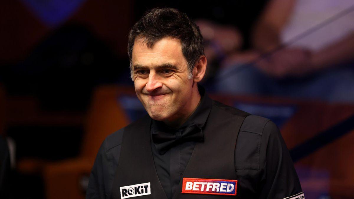 Ronnie O'Sullivan bei der Snooker-WM 2021