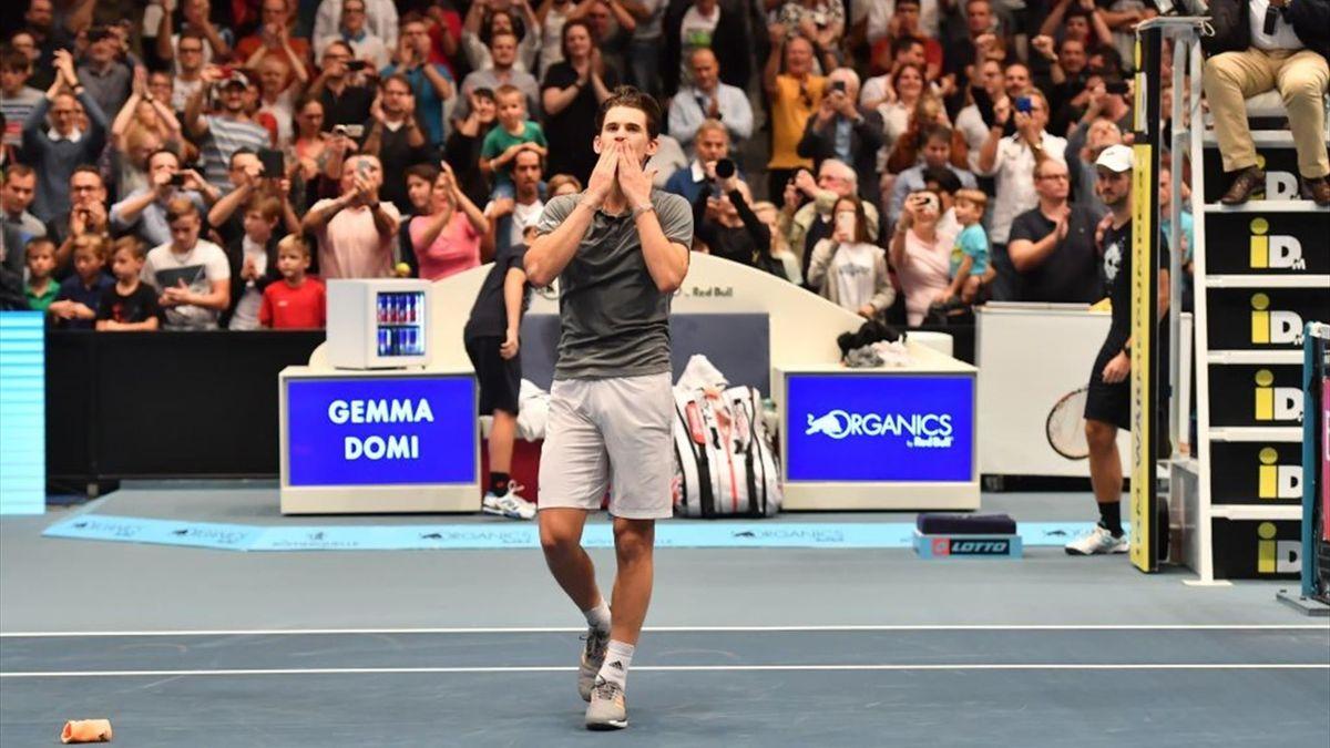 Tennis News Dominic Thiem Survives Diego Schwartzman Onslaught To Lift First Vienna Title Eurosport