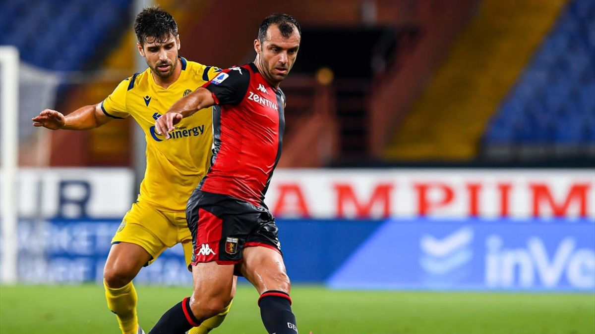 Genoa Verona 3 0 Pagelle Sanabria Al Top Pandev Prezioso Eurosport
