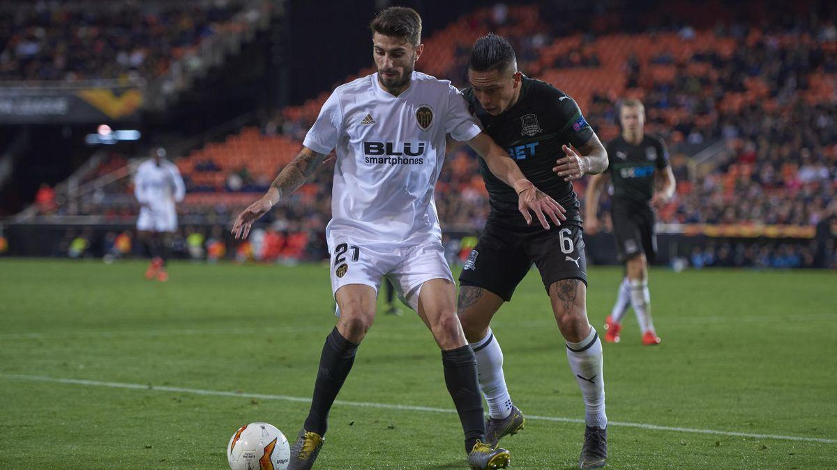 Piccini - Krasnodar-Valencia - Europa League 2018/2019  - Getty Images