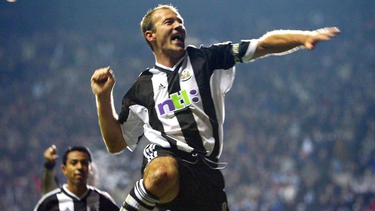 Alan Shearer - Newcastle United-Dynamo Kiev - Champions League 2002/2003 - Getty Images