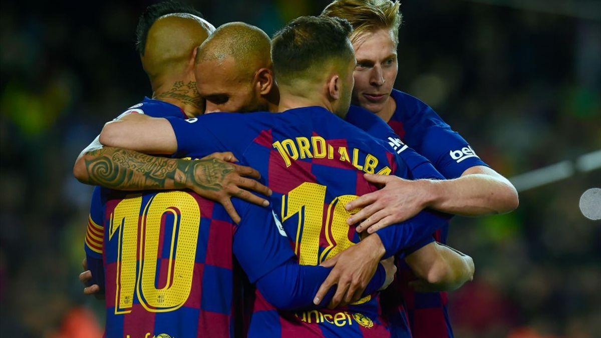 Martin Braithwaite a jucat în 3 partide pentru Barcelona înainte de suspendarea sezonului