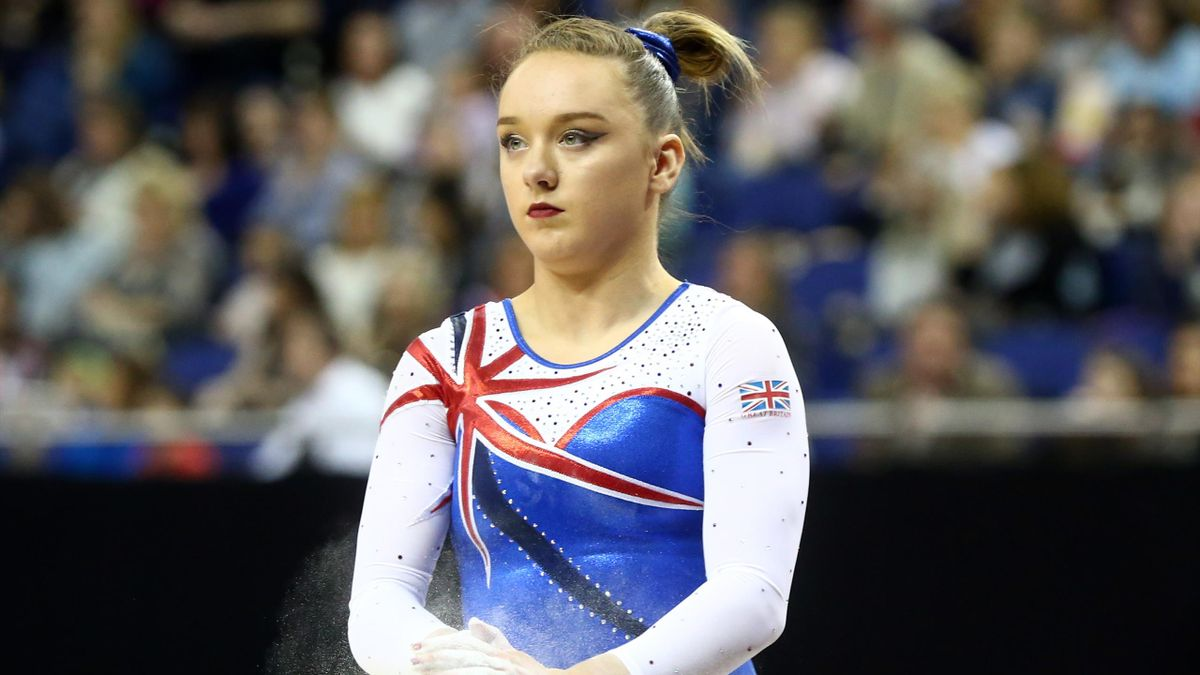Amy Tinkler won bronze at the 2016 Olympics.