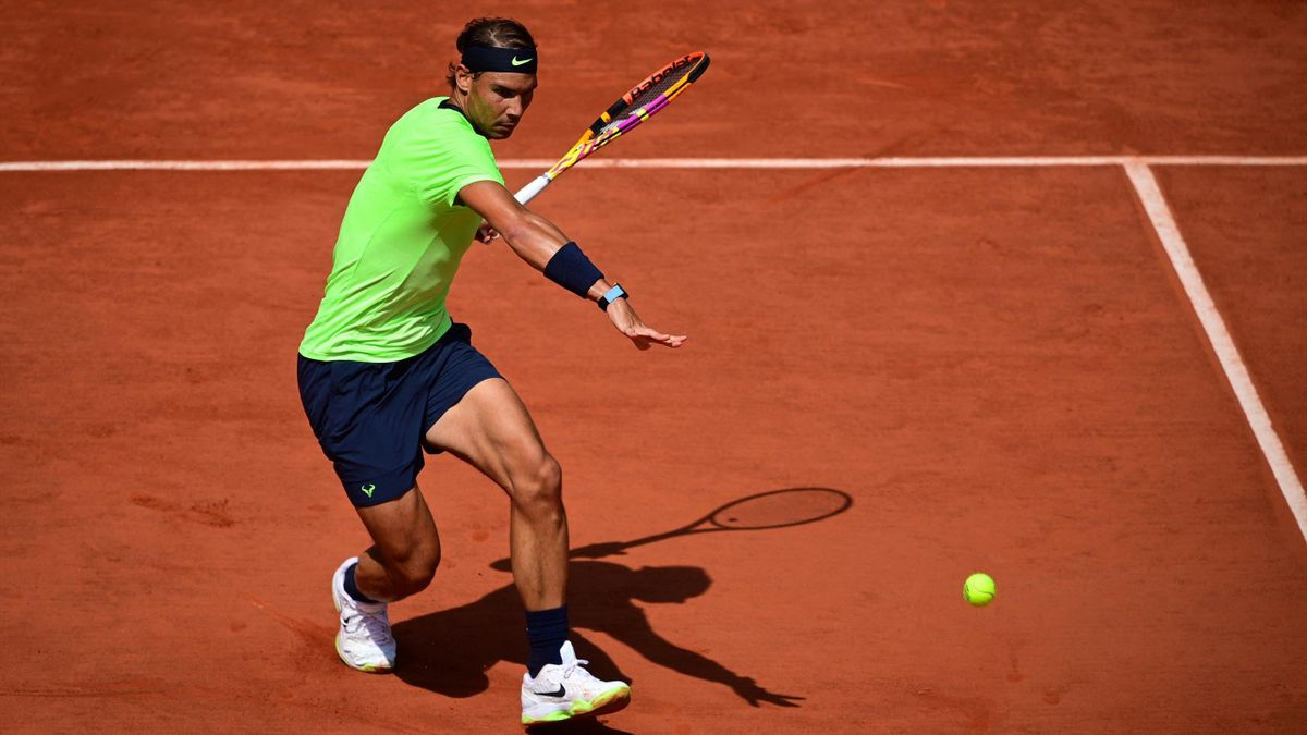 Rafael Nadal, en Roland-Garros 2021