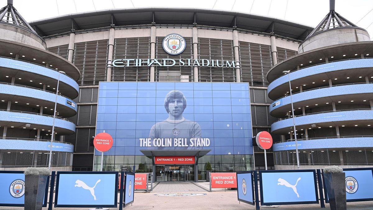 Etihad Stadium - home of Manchester City