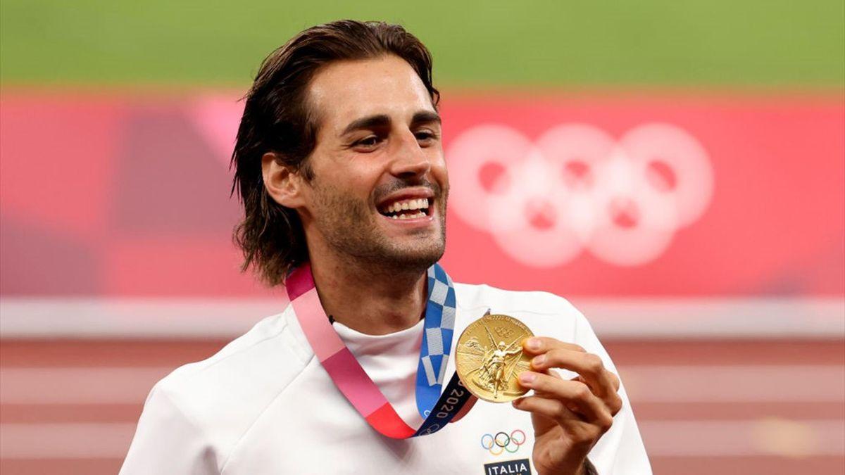Gianmarco Tamberi, medaglia d'oro nel salto in alto alle Olimpiadi di Tokyo 2020