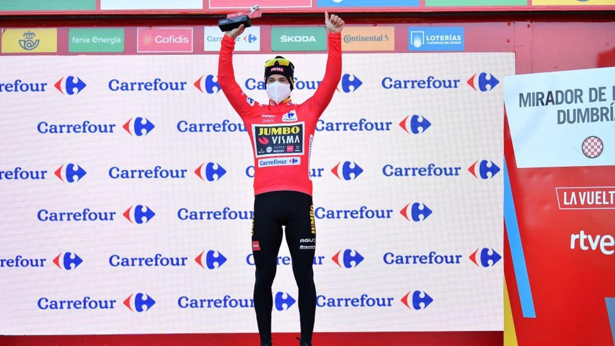 Primoz Roglic - Vuelta 2020, stage 13 - Getty Images