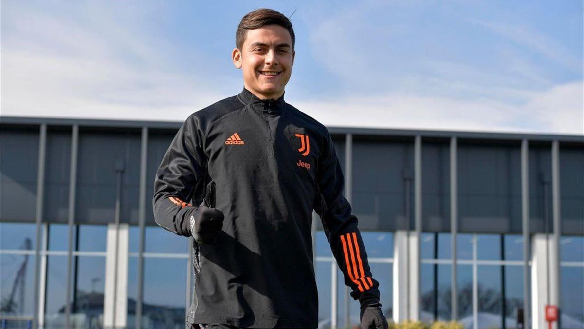 Paulo Dybala torna ad allenarsi alla Continassa - Juventus 2021 - Getty Images
