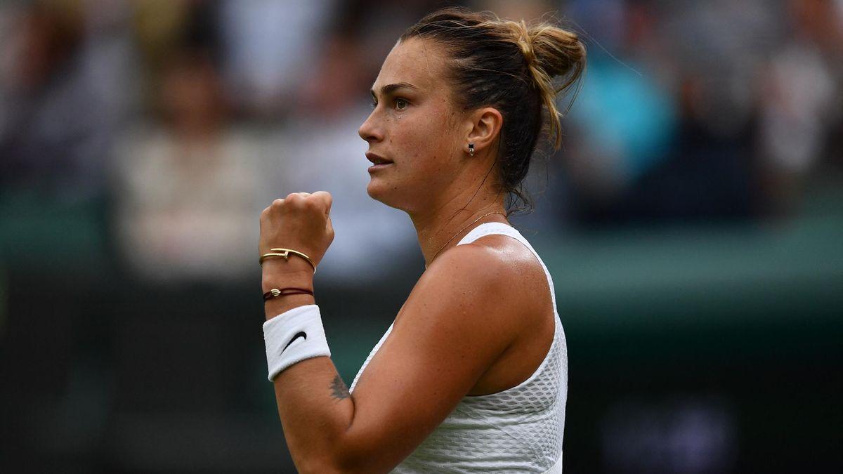 Aryna Sabalenka zieht in Wimbledon souverän in die nächste Runde ein