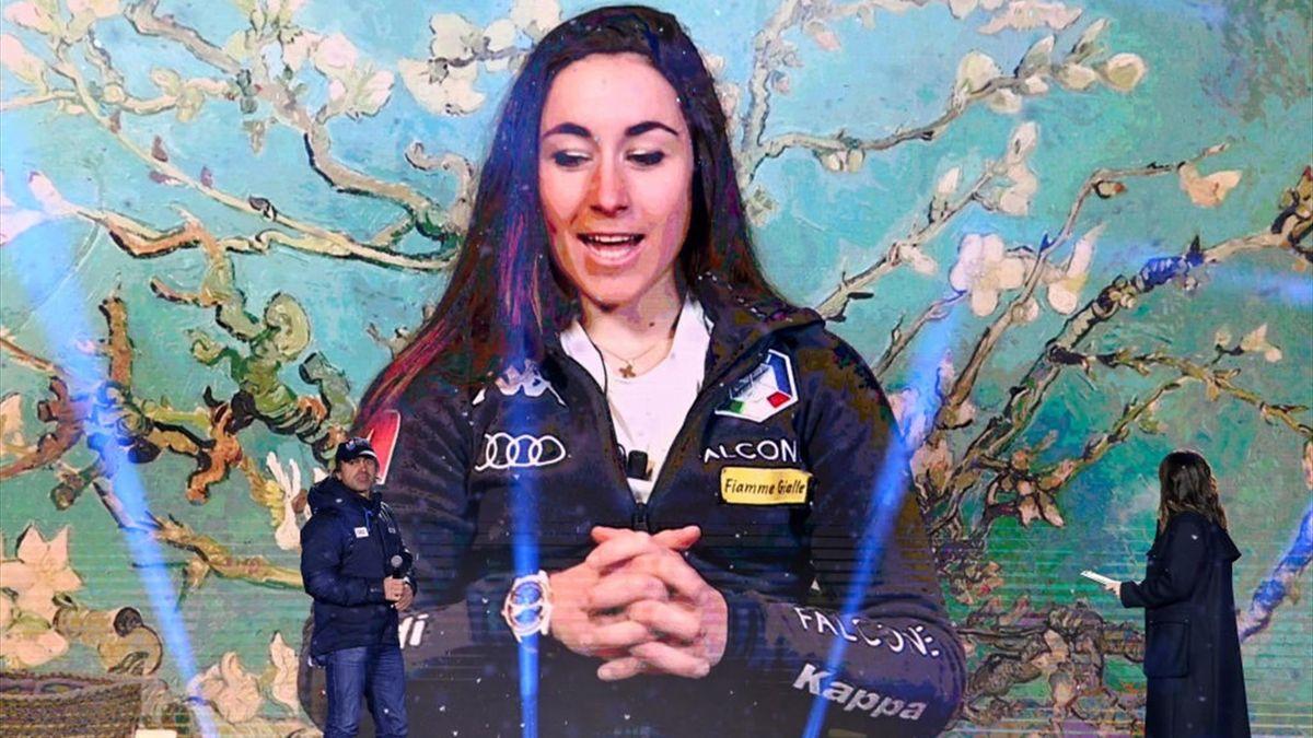 Sofia Goggia - Cerimonia di Apertura - Cortina Mondiali di Sci 2021 - Getty Images