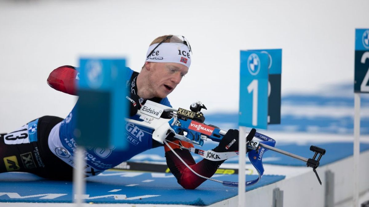 Johannes Boe a câștigat proba de sprint la  Kontiolahti