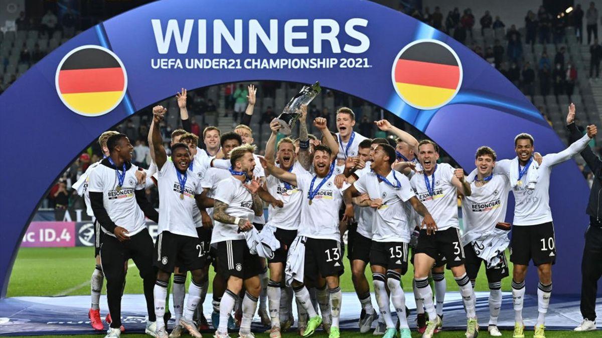 La Germania campione d'Europa Under 21 - Europei 2021