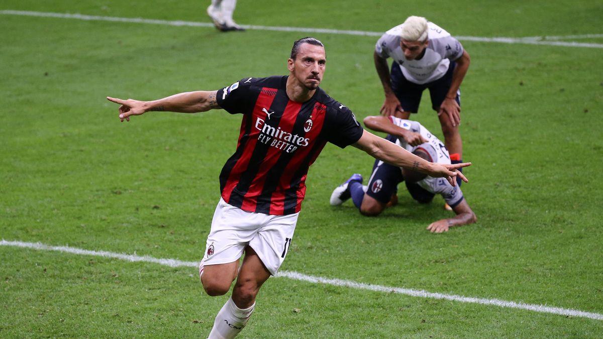 Zlatan Ibrahimovic, starul lui AC Milan