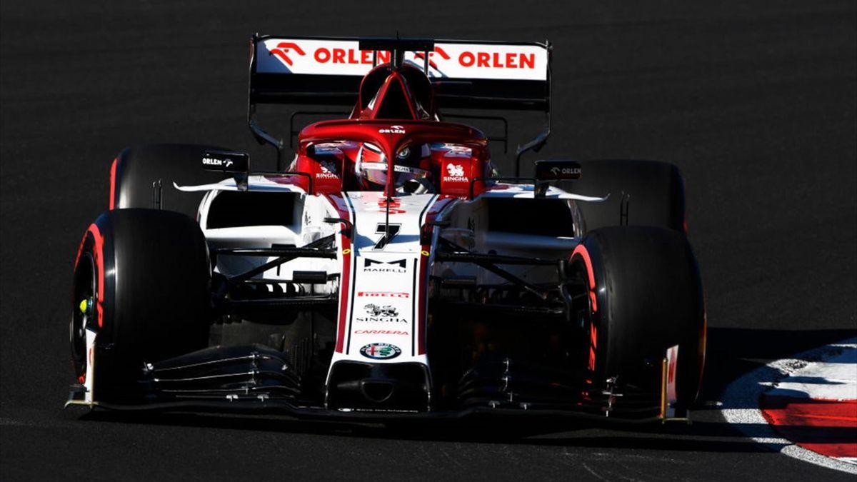 Veteran Kimi Raikkonen And Antonio Giovinazzi To Say On With Alfa Romeo Next F1 Season Eurosport