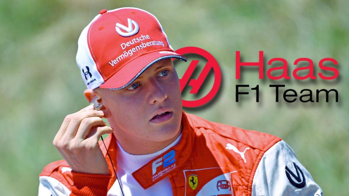 Mick Schumacher fährt 2021 für Haas