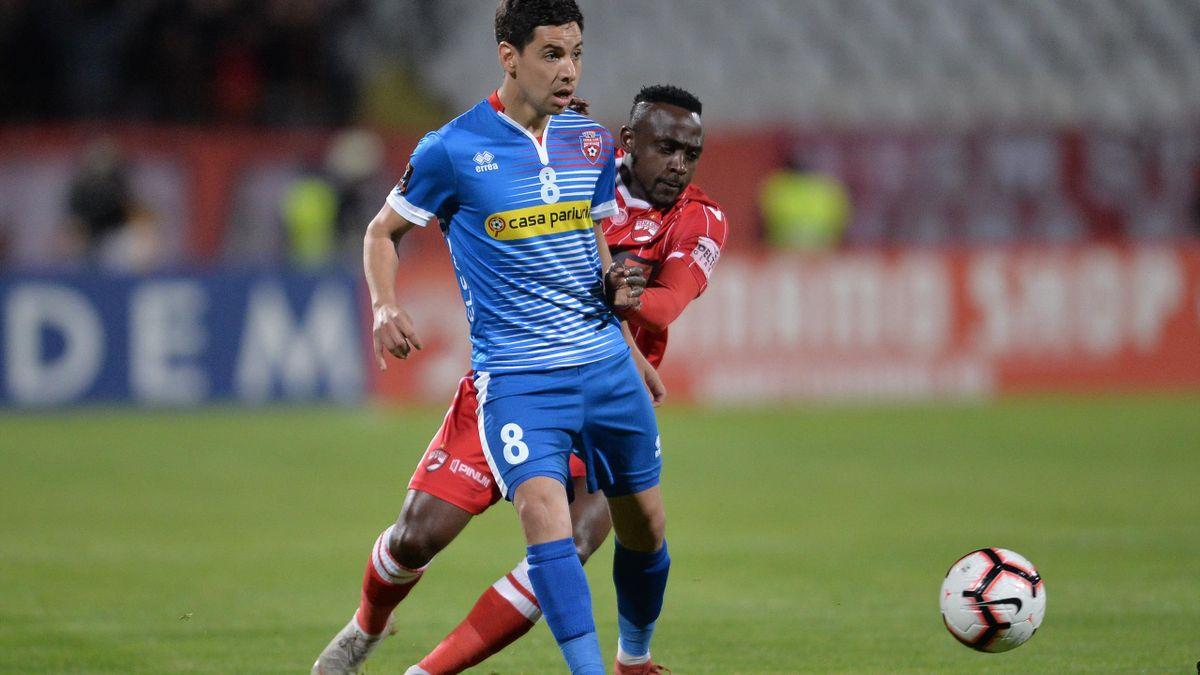 Jonathan Rodriguez, primul fotbalist din Liga 1 confirmat cu COVID-19