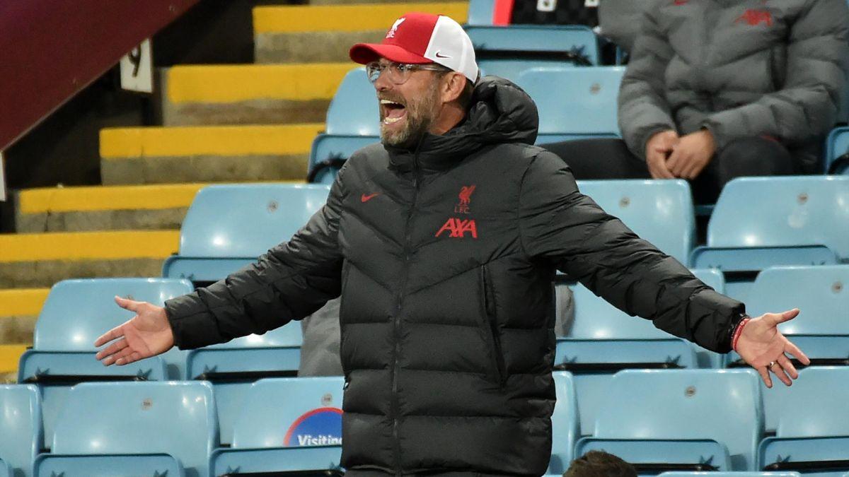 Aston Villa-Liverpool, Premier League 2020-2021: Jürgen Klopp (Liverpool) (Getty Images)