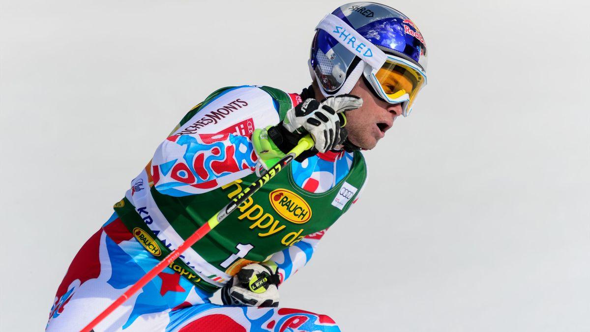 Alexis Pinturault en slalom