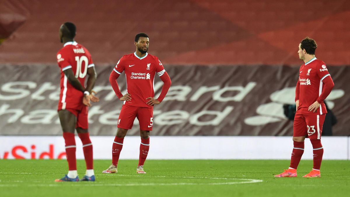Die Stars des FC Liverpool nach der Niederlage gegen den FC Everton