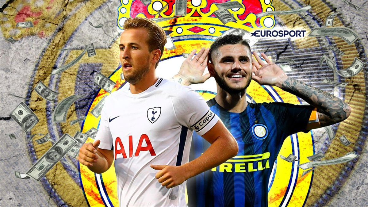 Euro Papers: Real Madrid eye Kane and Icardi in desperate €300m search for goals