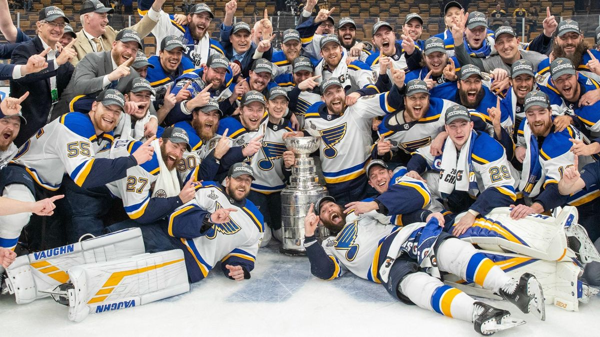 Saint-Louis Blues, vainqueurs de la Coupe Stanley (2019)