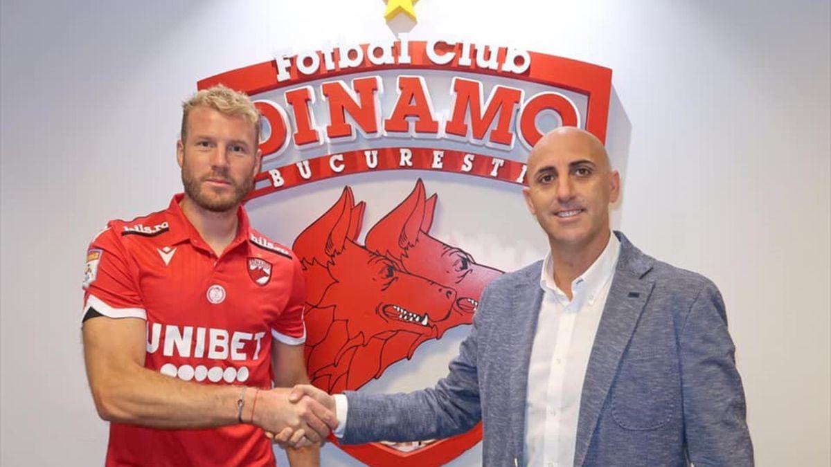 Adam Nemec a revenit după 2 ani la Dinamo