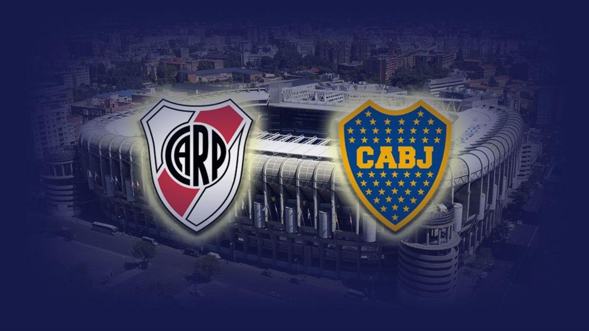 Montaje Final Libertadores River Boca