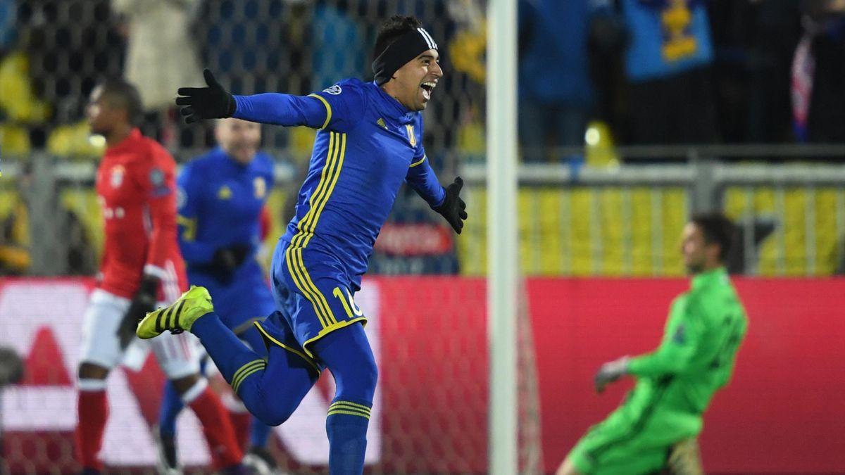 Christian Noboa (Rostov) contre le Bayern