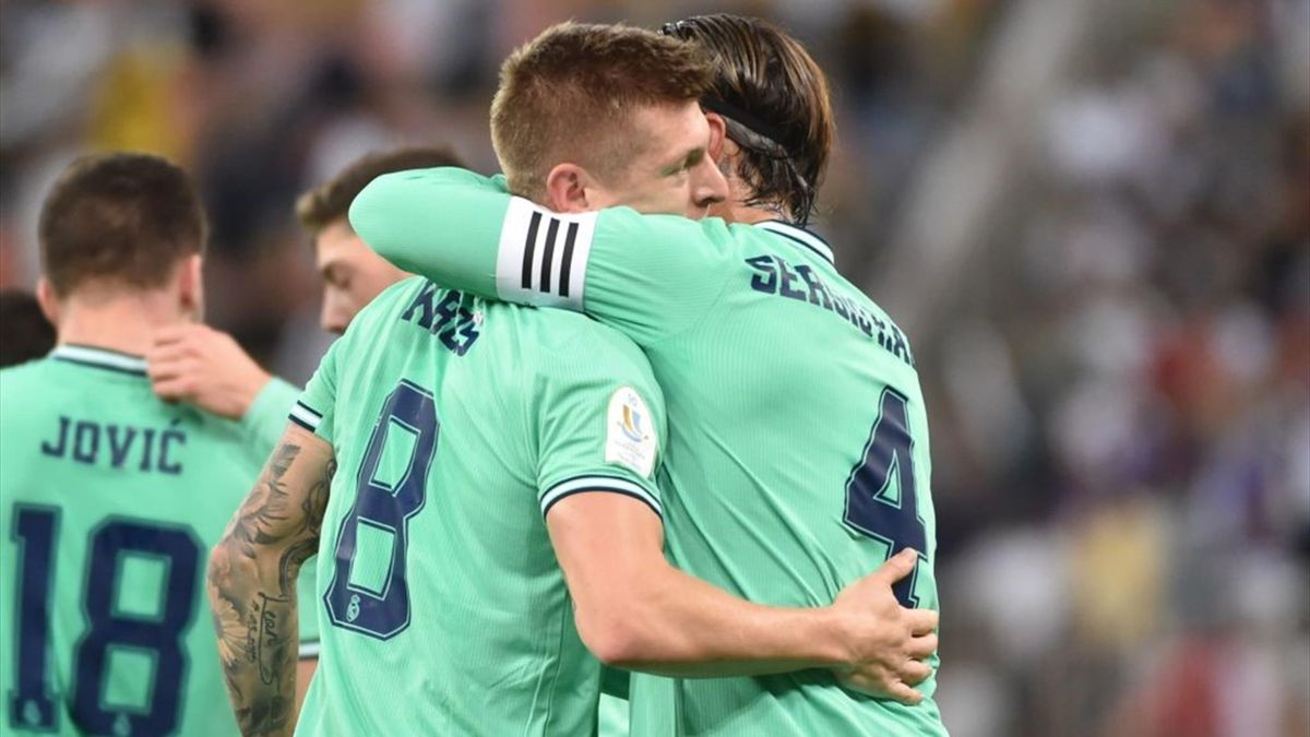 Kroos, Sergio Ramos - Valencia-Real Madrid - Spanish Super Cup 2020 - Getty Images