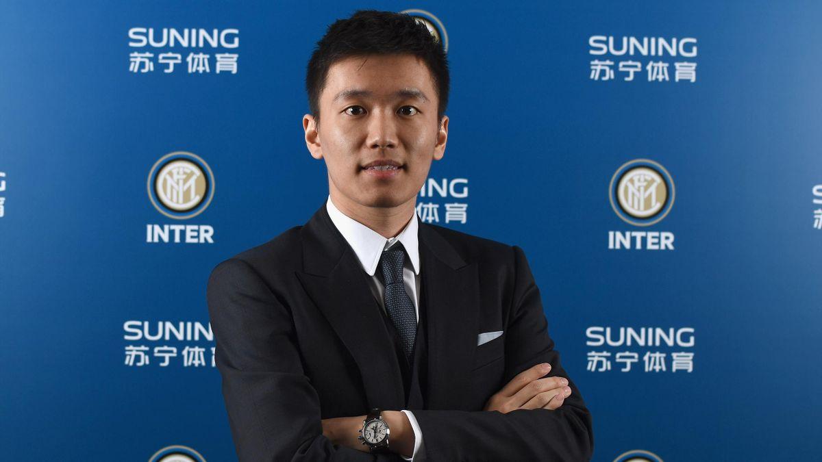 Il presidente dell'Inter Steven Zhang