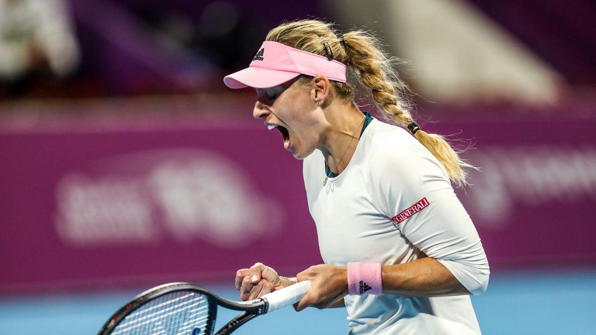 Angelique Kerber im Halbfinale von Doha