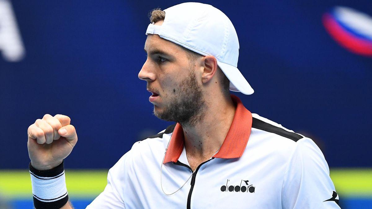 Jan-Lennard Struff hat beim ATP-Turnier in Cagliari das Achtelfinale erreicht