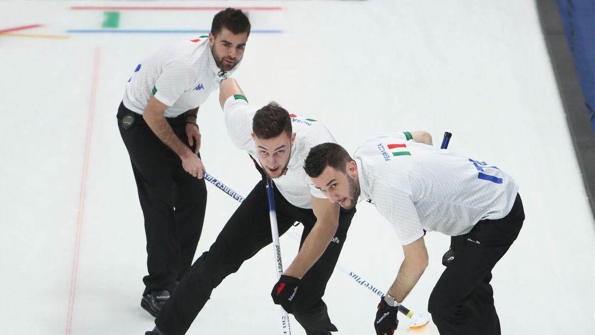 Curling bei Olympia 2018: Daniele Ferrazza (Italien)