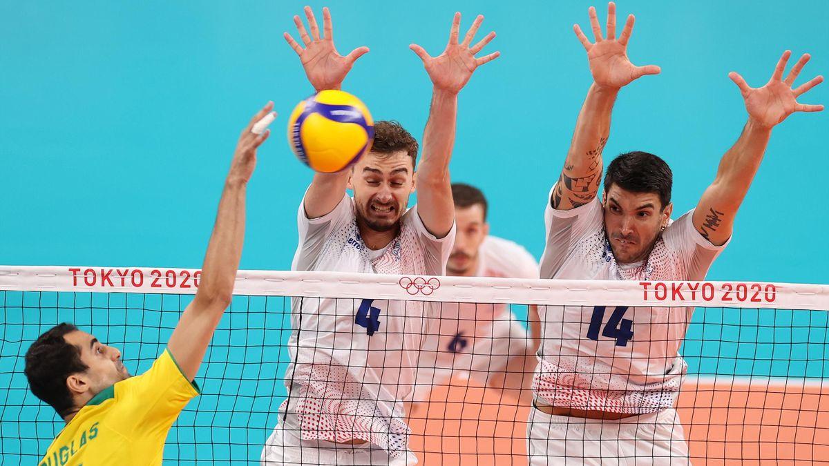 L'équipe de France a tout fait pour résister au Brésil