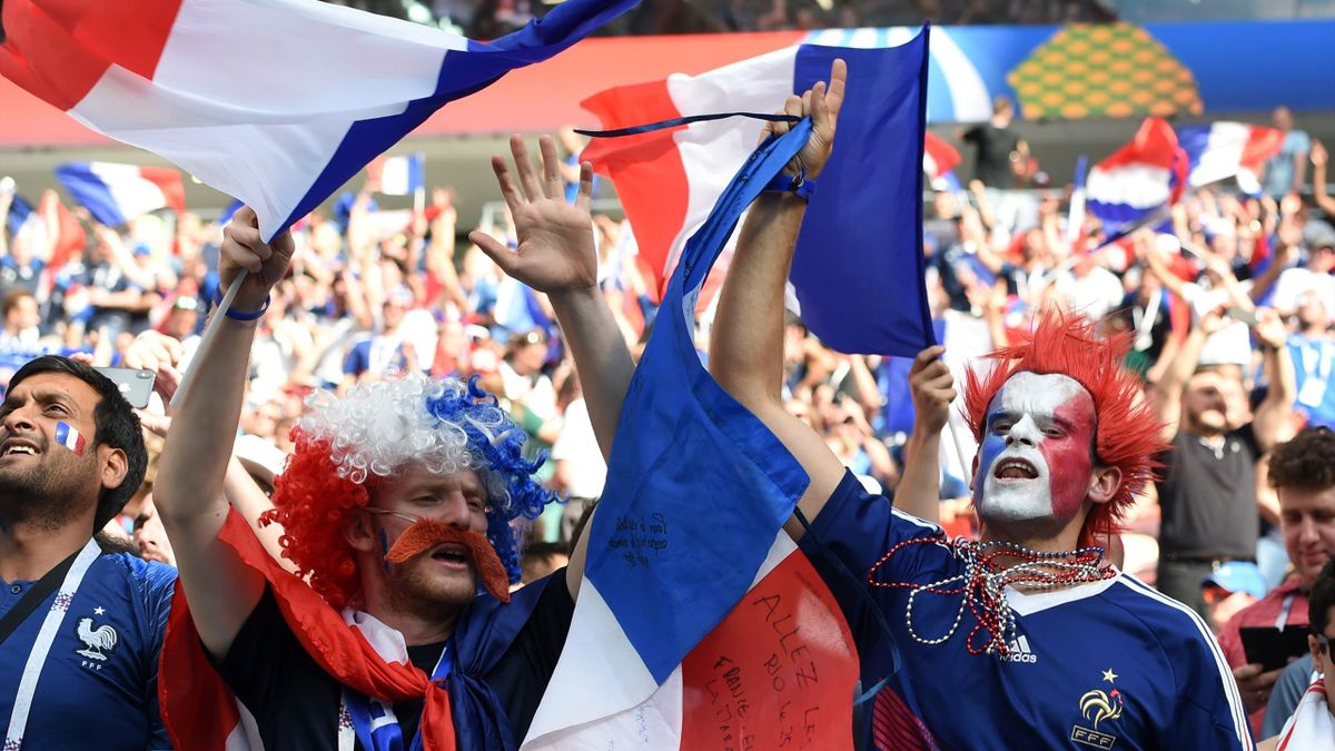 Suporterii naționalei Franței