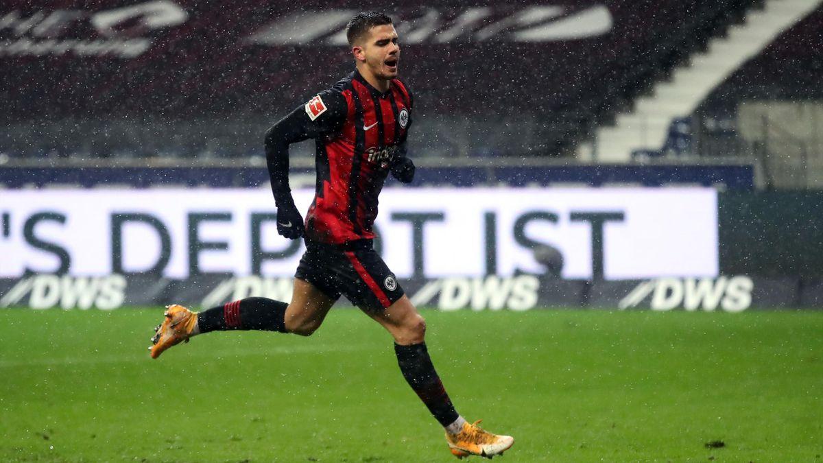 André Silva von Eintracht Frankfurt