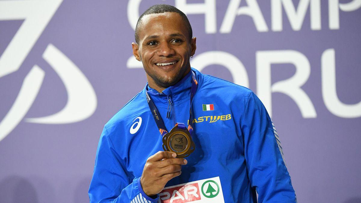 Paolo Dal Molin medaglia di bronzo 60 metri ostacoli agli Europei Indoor