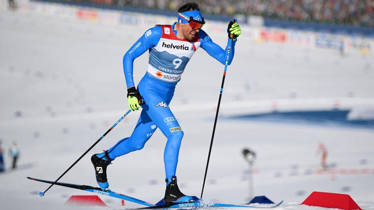 Francesco de Fabiani bei der Nordischen Ski-WM in Oberstdorf
