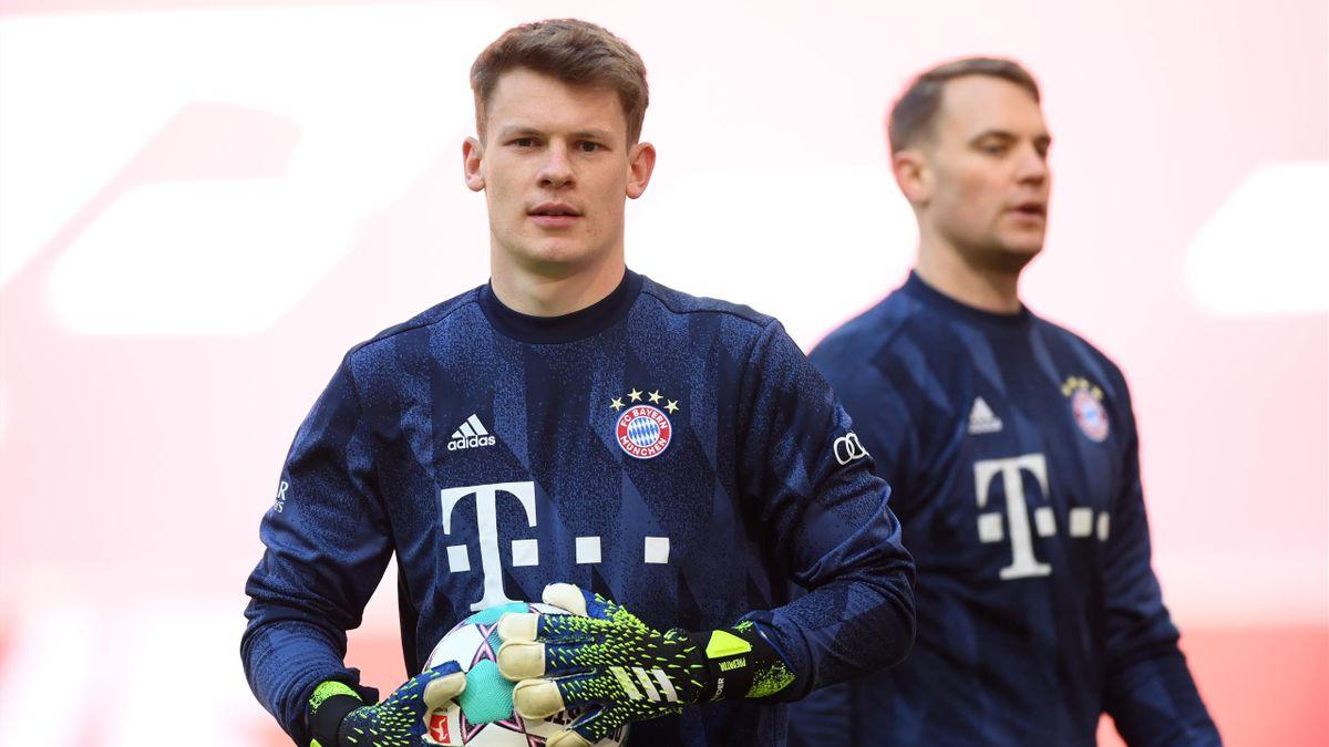 Alexander Nübel (vorne) und Manuel Neuer (hinten)