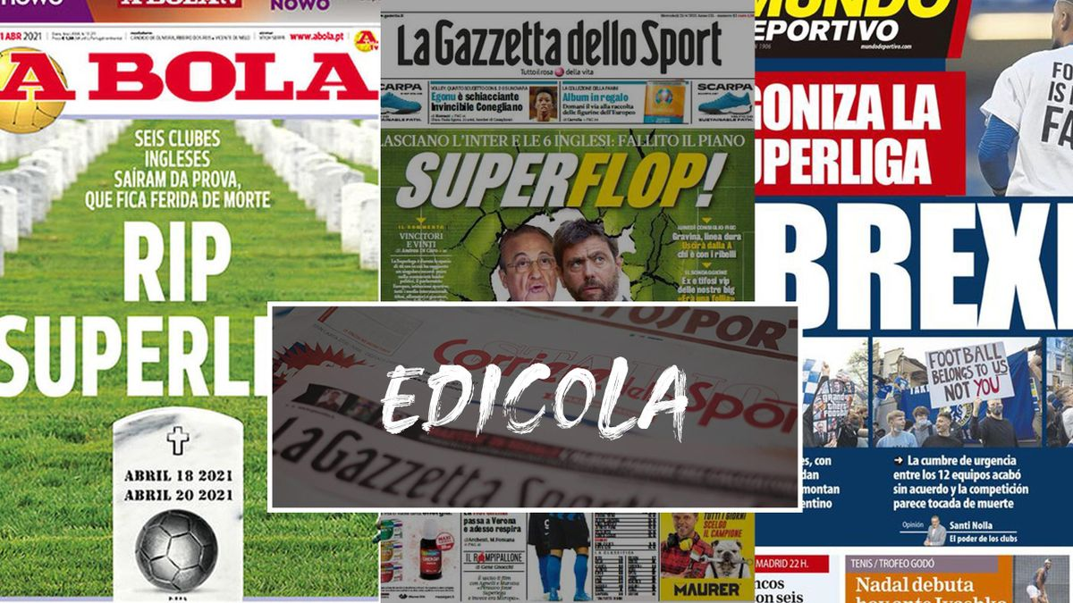 "Da ""Rip Superlega"" a ""SuperFuga!"": le prime pagine dei giornali"